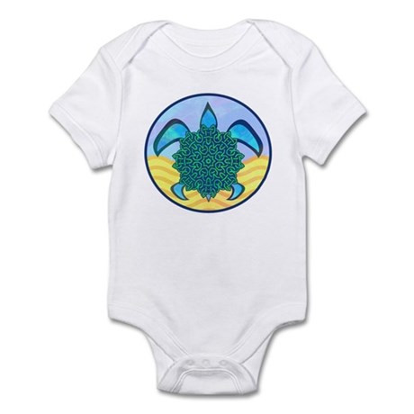 Knot Turtle Infant Bodysuit