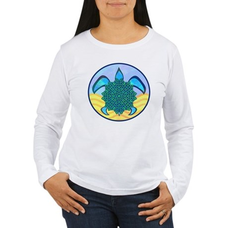 Knot Turtle Women's Long Sleeve T-Shirt