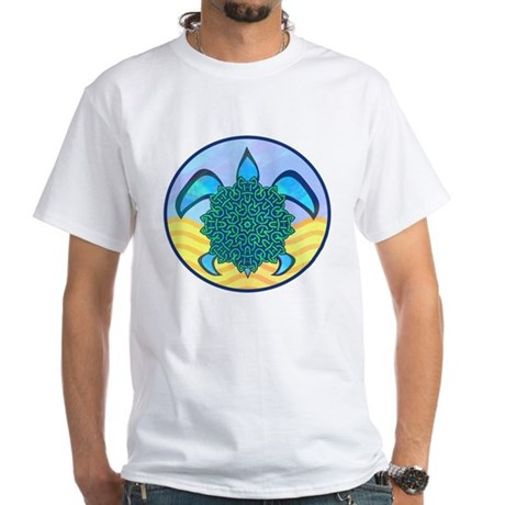 Knot Turtle White T-Shirt