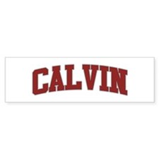 CALVIN Design Bumper Bumper Sticker