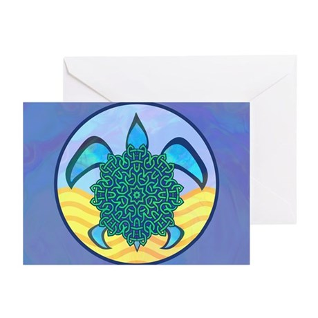 Knot Turtle Greeting Cards (Pk of 10)