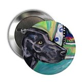 "Weimaraner moon 2.25"" Button (10 pack)"