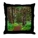 Seward, Alaska Throw Pillow