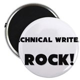 "Technical Writers ROCK 2.25"" Magnet (10 pack)"