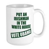 Irishman In White House Mug
