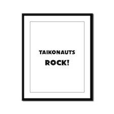 Taikonauts ROCK Framed Panel Print