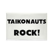 Taikonauts ROCK Rectangle Magnet