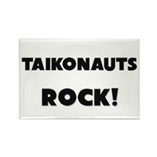 Taikonauts ROCK Rectangle Magnet (10 pack)