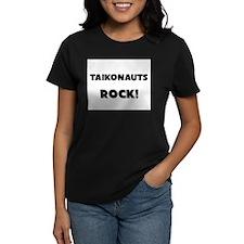 Taikonauts ROCK Women's Dark T-Shirt