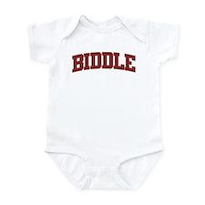 BIDDLE Design Infant Bodysuit
