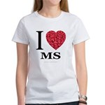 I Love MS Women's T-Shirt