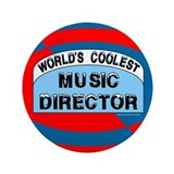 "Cool Music Director 3.5"" Button (100 pack)"