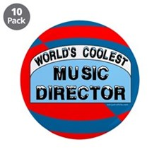 "Cool Music Director 3.5"" Button (10 pack)"