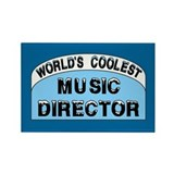 Cool Music Director Rectangle Magnet (100 pack)