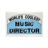 Cool Music Director Rectangle Magnet