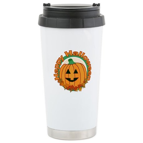Happy Halloween Ceramic Travel Mug