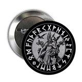 "Odin Rune Shield 2.25"" Button (100 pack)"