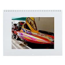 #1 Drag Boat Wall Calendar