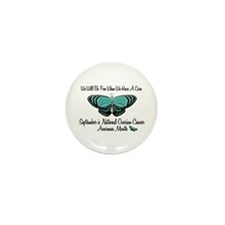 Ovarian Cancer Awareness Month 3.1 Mini Button (10