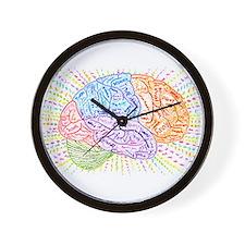 Cute Brain Wall Clock