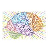 Cute Brain Postcards (Package of 8)
