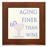Witty 60th Birthday Framed Tile