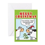 Bob Dylan's Xmas gift Greeting Cards (Pk of 20)