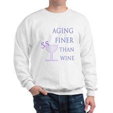 Witty 55th Birthday Sweatshirt
