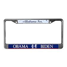 Alabama for Obama License Plate Frame