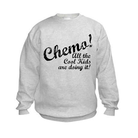 Chemo Cool Kids Kids Sweatshirt