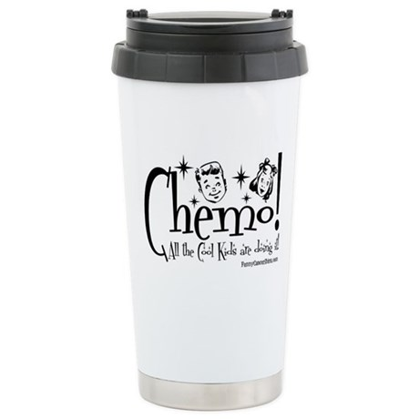 Cool Cancer Kid Ceramic Travel Mug