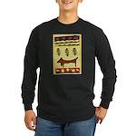 Weiner Dog Long Sleeve Dark T-Shirt