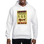 Weiner Dog Hooded Sweatshirt