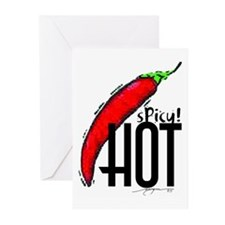 sPicy!hOt Greeting Cards (Pk of 10)