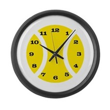 Large Tennis Wall Clock for clubhouse