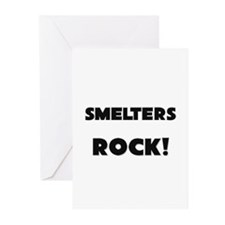 Smelters ROCK Greeting Cards (Pk of 10)