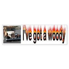 Woody Bumper Stickers