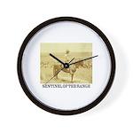 Prairie Sentinel Wall Clock