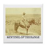 Prairie Sentinel Tile Coaster