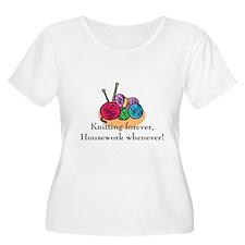 Knitting T-Shirt