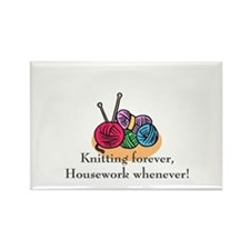 Knitting Rectangle Magnet