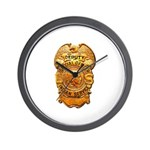 Federal Indian Police Wall Clock