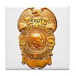 Federal Indian Police Tile Coaster