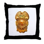 Federal Indian Police Throw Pillow