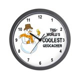 World's Coolest Geocacher Wall Clock