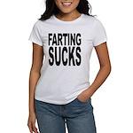 Farting Sucks Women's T-Shirt