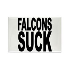 Falcons Suck Rectangle Magnet