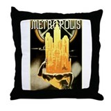 Movies metropolis Throw Pillows