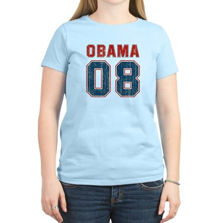 Obama 08 (sport vintage) Women's Light T-Shirt