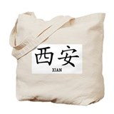Xian in Chinese Tote Bag